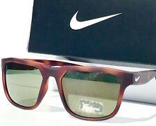 New* Nike Fly Swift Matte Tortoise w Green mirrored lens Sunglass Ev0926 205