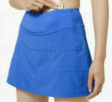 Lululemon Pace Rival Skirt Size 2 Skort Wild Bluebell WDBL NWT