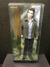 EDWARD The Twilight Saga BARBIE Action Figure SEALED PINK LABEL
