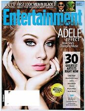 Entertainment Weekly ADELE Music Issue Men In Black One Direction April 13, 2012