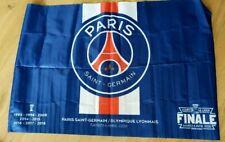 ** Drapeau FINALE COUPE DE LA LIGUE 2020 Paris SG Lyon PSG