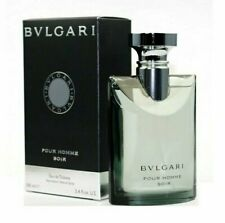 BVLGARI SOIR 3.4 oz EDT eau de toilette Men's Spray Cologne Bulgari NEW NIB 3.3