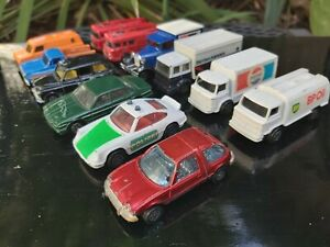 Corgi Dinky Matchbox Great Britain 1970s 1980s Diecast Vintage Collectible cars