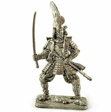 *Kato Kiyomasa, 1590* Tin toy soldiers. 54mm miniature figurine. metal sculpture