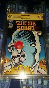 Suicide Squad #64 CBCS 8.0 Signed by John Ostrander