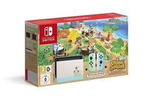 Nintendo Switch Animal Crossing New Horizons Edition Limited Edition 32GB NEU