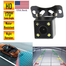Car Rear View Reverse Backup Camera Parking Waterproof Night Vision HD 170º CMOS
