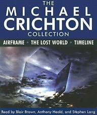 The Michael Crichton Collection : Airframe - The Lost World - Timeline by.