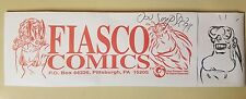 Don Simpson Autographed Fiasco Comics Hat