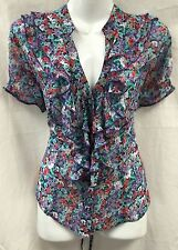 Wallis Chiffon Semi Fitted Floral Tops & Shirts for Women