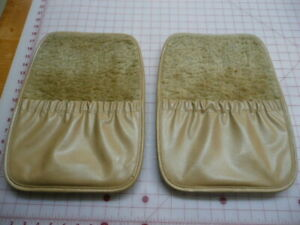 """1987 AMC Jeep Wagoneer """"Limited"""" - Front Seat Back Panels w/ Storage (pair)"""