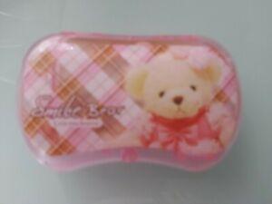 Bear Pink Contact Lens Case