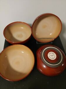 Nova Brown 4933 SET OF 4 SANGO SALAD BOWLS