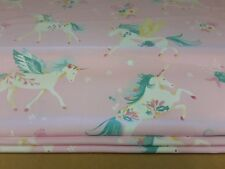 Roman Blind, Laura Ashley Unicorns fabric  (Made to measure)