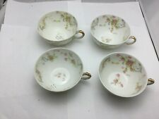 Vintage Haviland Limoges tea cup set of 4