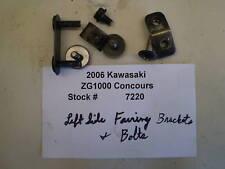2006 06 Kawasaki ZG1000 Concours Left Fairing Brackets
