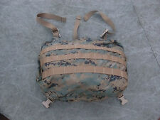 New USMC MARPAT ILBE Arcteryx Main Pack Lid for Backpack - with Radio Pouch