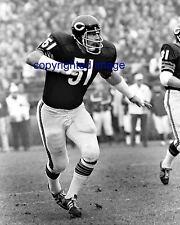 Dick Butkus Chicago Bears HOF'er B+W 8x10 C