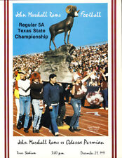 1991 5A Marshall vs Permian State Championship Program