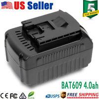 For BOSCH 18V 4000mAh Battery Li-ion BAT609 BAT618 Electric Prof Power Tool Free
