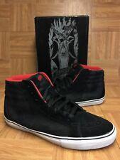 RARE🔥 VANS Sk8-Hi Vert PRO Jeff Grosso Black Sz 13 Men's Skateboarding Shoes LE