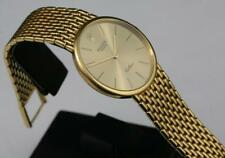 1991 18K Solid Yellow Gold ROLEX CELLINI Hand-Winding Cal 1601 20 Jewels Men's