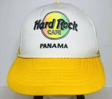Vintage Hard Rock Cafe Panama Save The Planet Strapback Hat Cap Foam Trucker