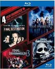 4 Film Favorites: Final Destination Collection (2014, Blu-ray NIEUW)