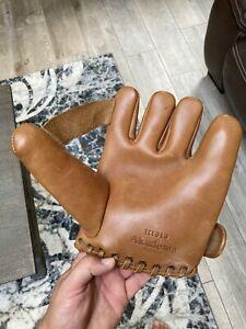 Akadema H1919 1910 to 1920 Split Finger Baseball Glove Replica Near Mint Unused