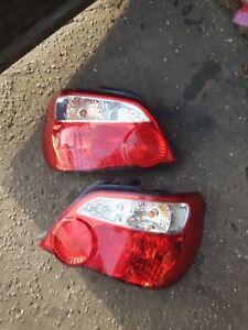 Subaru impreza 03-05 Blobeye Wrx STi Rear Lights Tail Lights lamps hawkeye etc