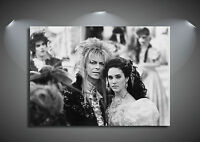 Labyrinth Vintage Movie David Bowie CANVAS Art Print - A0 A1 A2 A3 A4