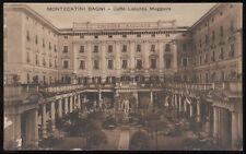carte postale MONTECATINI salles de bains-café inn une plus grande