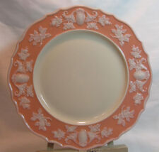 Lenox USA Antique Dinner Plate Coral White Shell Embossed Scalloped Rim VGC