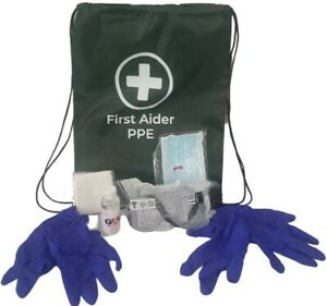 First Aider PPE Kit (Now with FREE Postage)