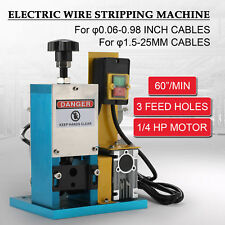 Industrial wire strippers