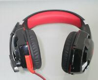 Gaming Kopfhörer PS4 KINGTOP Stereo PC Headset *defekt* (B807-R50)