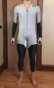 Nike SWIFT Speedskating rubber Team USA FULLBODY Suit skinsuit speedsuit Olympic