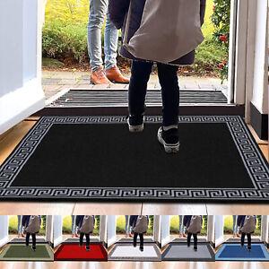 Non Slip Small Large Indoor Door Mat Washable Rugs Bedroom Kitchen Floor Mats