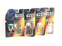 Star Wars Lot Of 4 Action Figures. -Kenner toys-