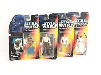 Star Wars Lot Of 4 Action Figures. -Kenner toys-