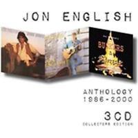 JON ENGLISH Anthology 1986-2000 3CD NEW Dark Horses/Busking/Buskers & Angels