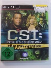 Playstation PS3 Game CSI Fatal Conspiracy, USED BUT GOOD