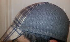 Wool Cycling cap color moca w contracts one size brand new, THE VISOR IS PLASTIC