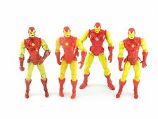 Marvel Universe Classic Armadura Iron Man, todos los 4 Variantes, Vengadores 4 Pulgadas Figura