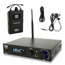 Pyle PDWMN49 UHF In-Ear Monitor & Receiver System  100 Selectable Frequency