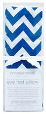 NEW Navy Blue Chevron Design Relaxing Eye Rest Pillow With Lavender