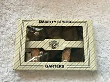 Garters, Smartly Styled Garters, New Old Stock, Vintage Smartly Styled Garters