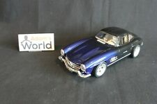 """Bburago Mercedes-Benz 300 SL 1:18 purple / black """"tuning"""" (JS)"""