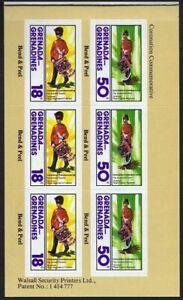 Grenada Gren 274 booklet,MNH. QE II Coronation,25th Ann.1978.Drummer,Drum Major.