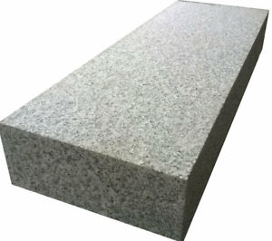 Blockstufe Granit hellgrau 35/15 cm verschiedenen Längen